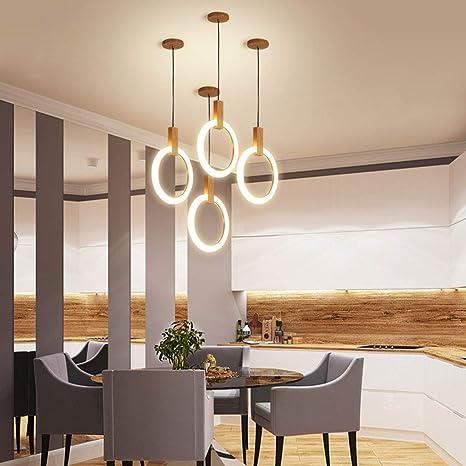 HU HAO UK Lámpara de Techo- Lámpara Colgante Japonesa de ...