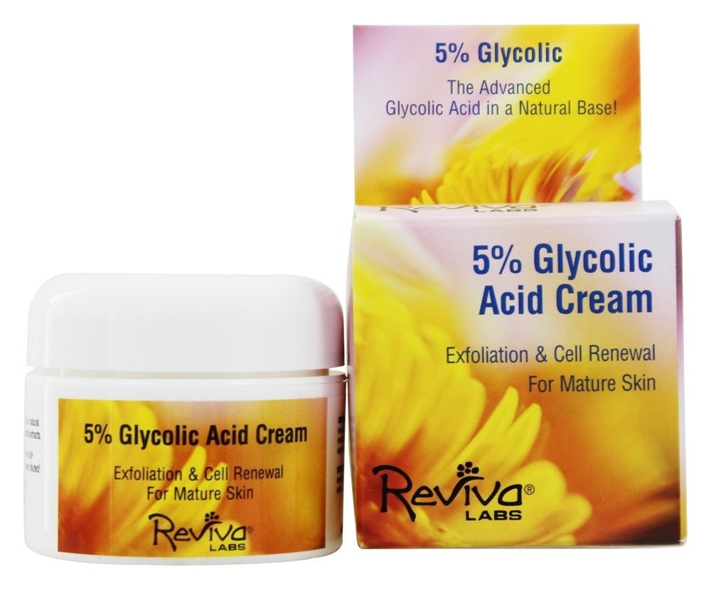 Reviva Labs 5% Glycolic Acid Renaissance Cream - 1.5 oz