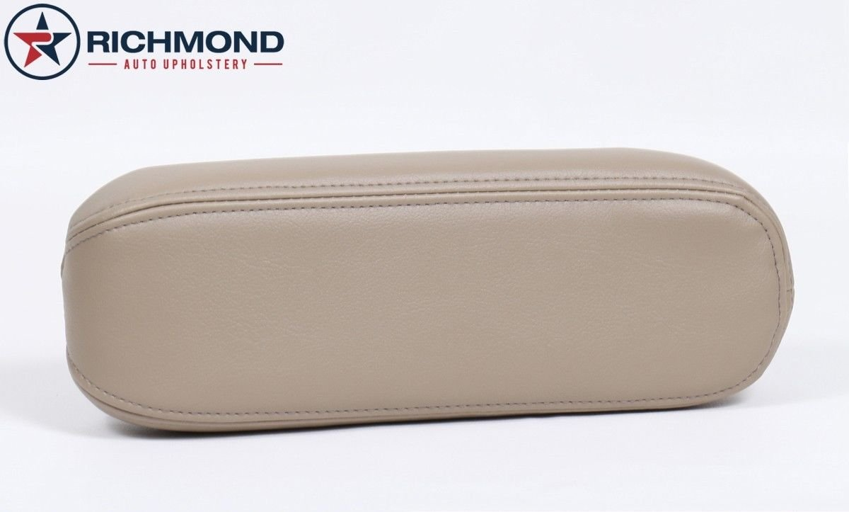 2000 2001 2002 2003 2004 Ford F-250 F-350 Lariat Driver Side Armrest Cover, Tan