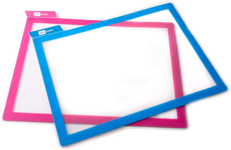 Blau Magnetischer Dokumentenhalter A4 PATboard Scrum Board und Kanban Board