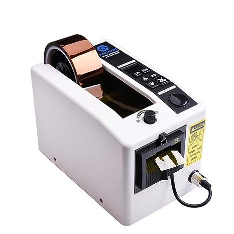 KNOKOO Dispensador electrónico automático de cinta M1000 cortador de cinta para corte de longitud 20-