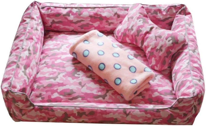 Erosmmg ペット犬猫ベッド|犬&猫用ソファスタイルソファーペットベッド - 複数の色とスタイルで利用可能 (色 : B, サイズ さいず : L l) B L l