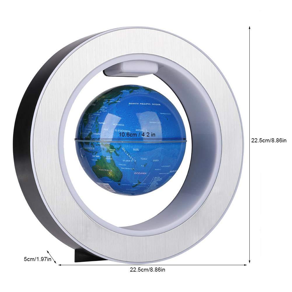 EU Plug FTVOGUE TVOGUE Magnetic Floating Globe Revolving World Map Globe Light LED Decor Gift Ornaments