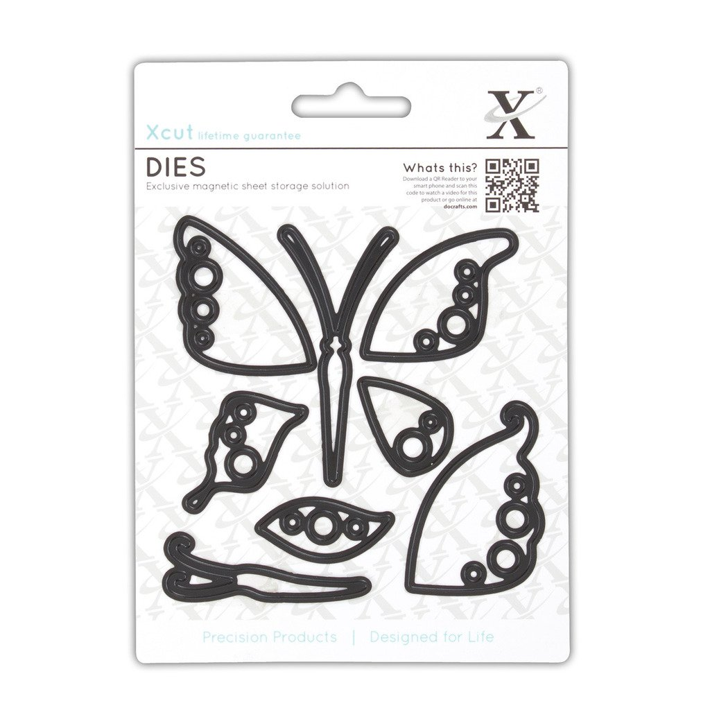 Decorative Dies (8pcs) - Butterflies Xcut Emboss Shim Shim Shim Cut Detail Stencil B00F9H4WLC | Bekannt für seine hervorragende Qualität  89aca9
