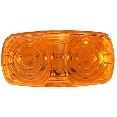 Grote G4603 Yellow Hi Count Square-Corner 13-Diode LED Clearance Marker Light: Automotive