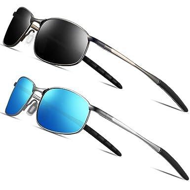 FEIDU Deporte Gafas de Sol Polarizadas Lente HD con Estilo de Conducir para Hombre y Mujer FD 9005