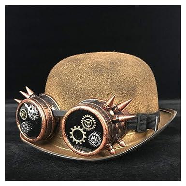 Xingyue Aile Sombrero de copa y gorras de vaquero, Fedora Luxury ...