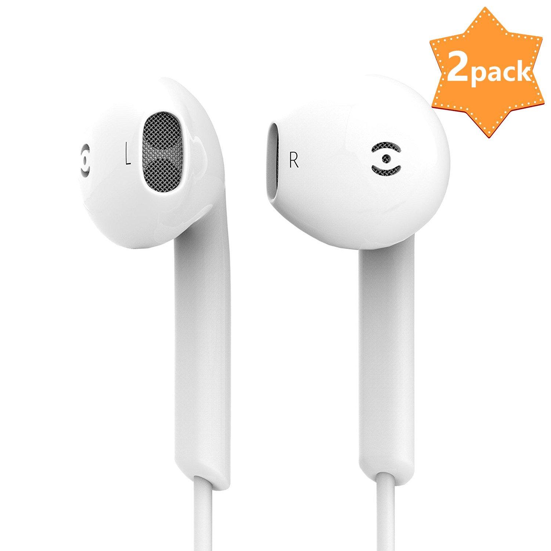 DAREYOU /Écouteurs Compatible avec lecteurs MP3,iPhone,Android Smartphones /Écouteurs Intra-Auriculaires filaires avec Microphone