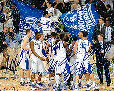 Kentucky UK Wildcats 2011-2012 Team Signed 8X10 Photo w/COA