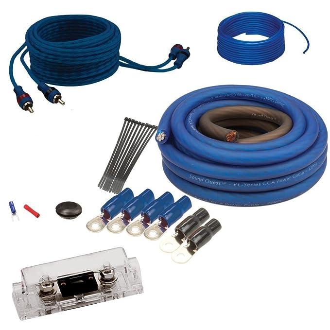 amazon com soundquest sqk4anl cca 4 gauge wiring kit car electronics rh amazon com 4 gauge wiring kit best buy 4 gauge wiring kit