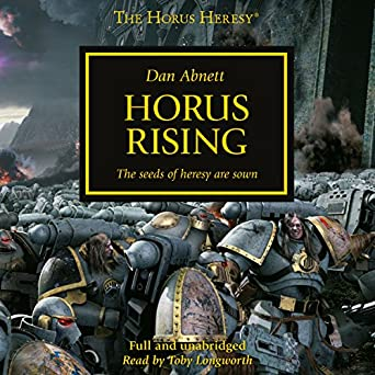 Black library the horus heresy: galaxy in flames unabridged.