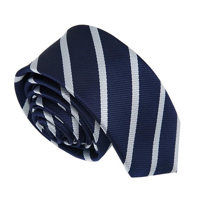 Ties N Such - Corbata - para hombre Azul azul marino Talla única FJNh2B