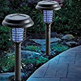 Solar Mosquito Repellent Lights, Repellent Waterproof LED Light Pest Bug Zapper Insect Mosquito Killer Lamp For Garden Lawn, Patio, Yard