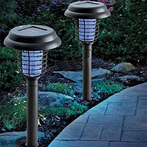 Solar Mosquito Repellent Lights, Repellent Waterproof LED Light Pest Bug Zapper Insect Mosquito Killer Lamp For Garden Lawn, Patio, Yard by US-PopTrading