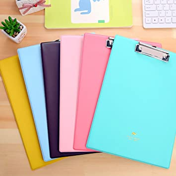 clipboard office paper holder clip. Zhi Jin Macaron Leather A4 Foolscap Conference File Writing Clipboard Folder Document Holder Hard Clip Board Office Paper