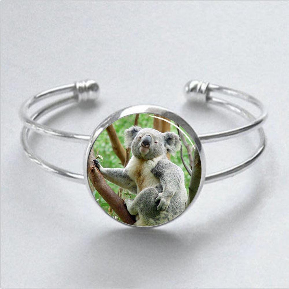 Regalos para pulsera de Koala Koala oso pulsera para hombres para ella para él