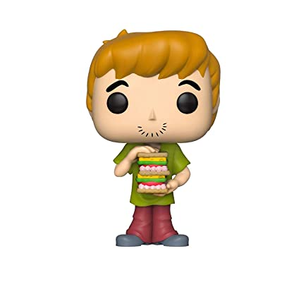 Funko Pop! Animation: Scooby Doo- Shaggy with Sandwich: Toys & Games