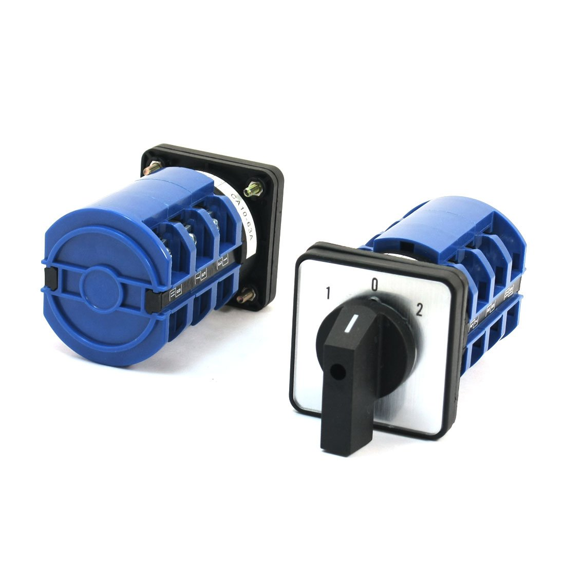 uxcell 660V 63A 12 Screw Terminal 3 Phase Rotary Cam Changeover Switch 2 Pcs by uxcell (Image #1)
