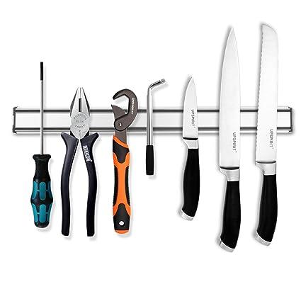 LONGLISHENG Soporte magnético para cuchillos, reemplaza el ...