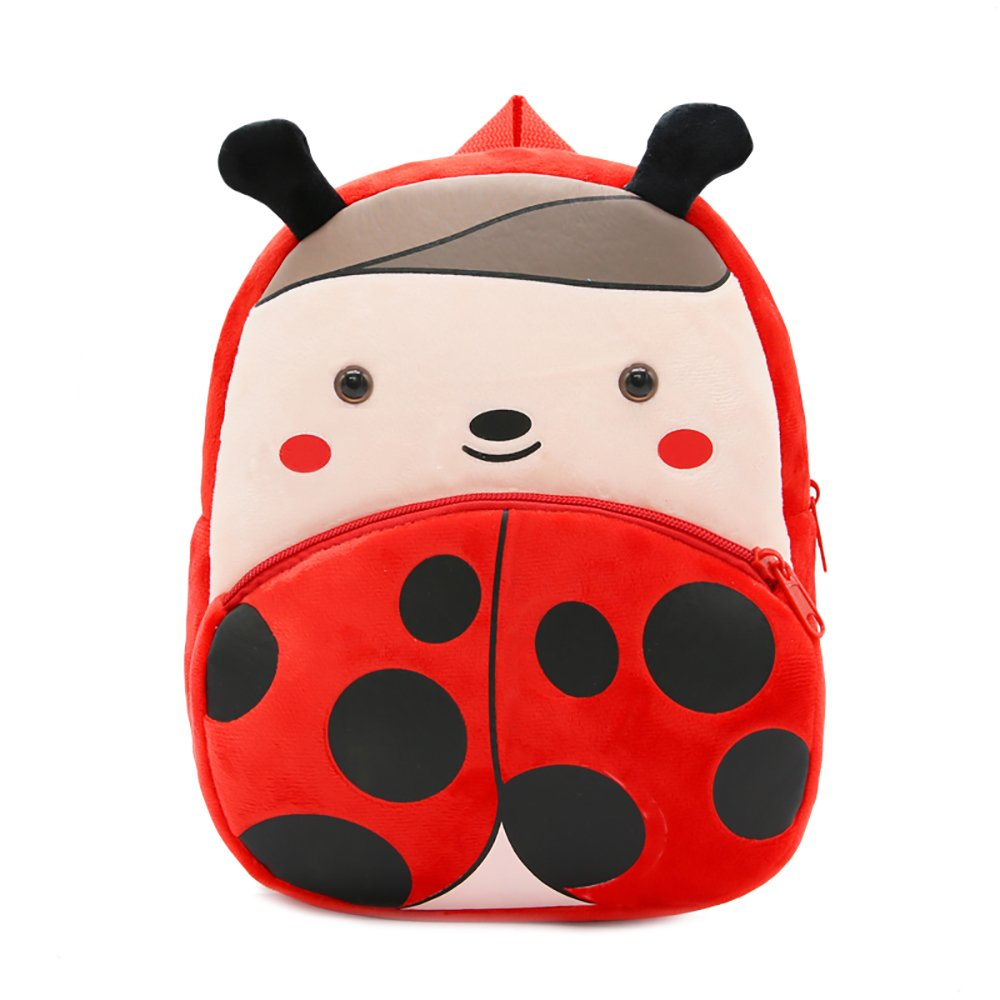 SPLHMILY Cute Toddler Kids Backpack, Mini Funny Zoo Elephant Schoolbag for Little Boys or Girls