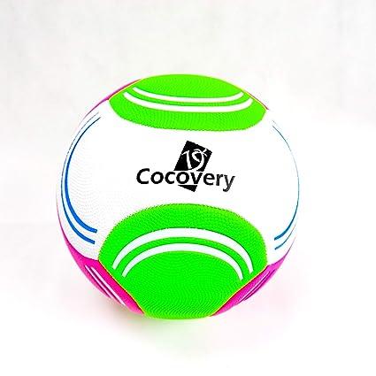 Balón Futbol para Playa-Granulado-Cocovery19 (Verde): Amazon.es ...