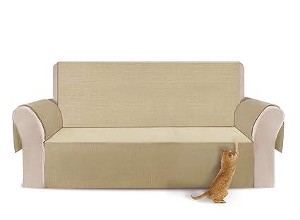 YEMYHOM 100% Non Slip Couch Covers Anti Leakage Sofa Slipcovers 3 Cushion