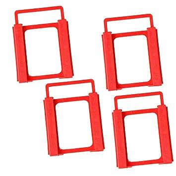 KESOTO 4 Piezas 2.5 Pulgadas A 3.5 Pulgadas SSD/HDD Bahía De Disco ...