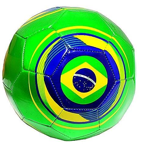 Bandera del balón de fútbol Brasil Práctica Tamaño Oficial 5 BRA ...