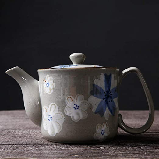 Za Ruo Xiu Tetera de cerámica_Tapera de cerámica Japonesa ...