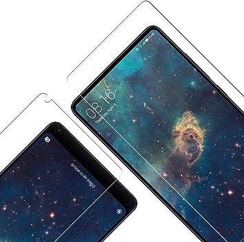 Cristal Templado para Xiaomi Mi Mix 2, [3 Unidades] [2.5d Borde ...
