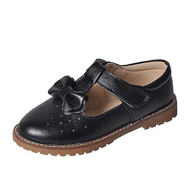db6060bf27b YIBLBOX Kid Girls Princess Dance Shoe Dress Up Cosplay Wedding Shoes Mary  Jane