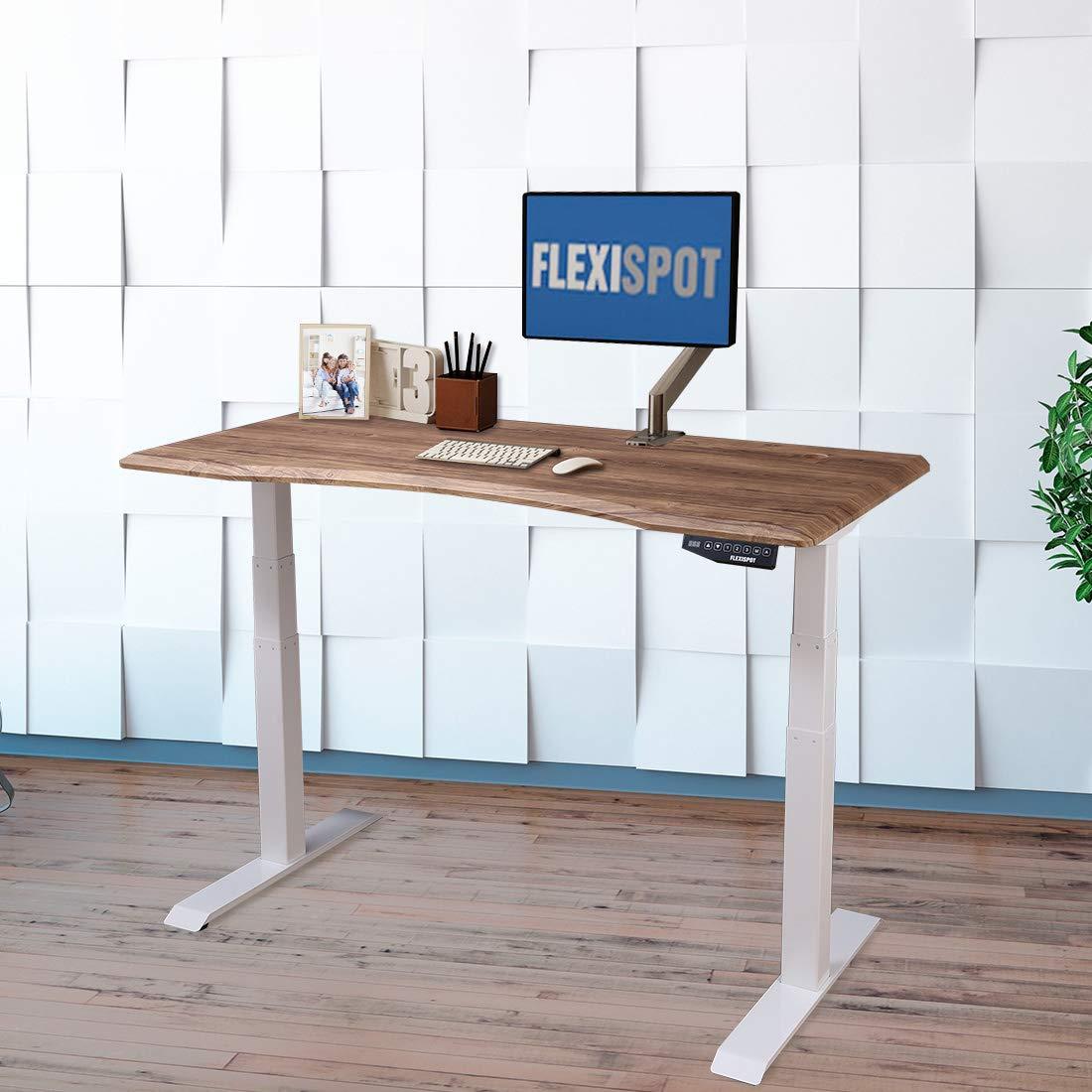 /Érable Planche Rectangulaire DIY pour Bureau R/églable en Hauteur FLEXISPOT Plateau Stable de 100x60cm