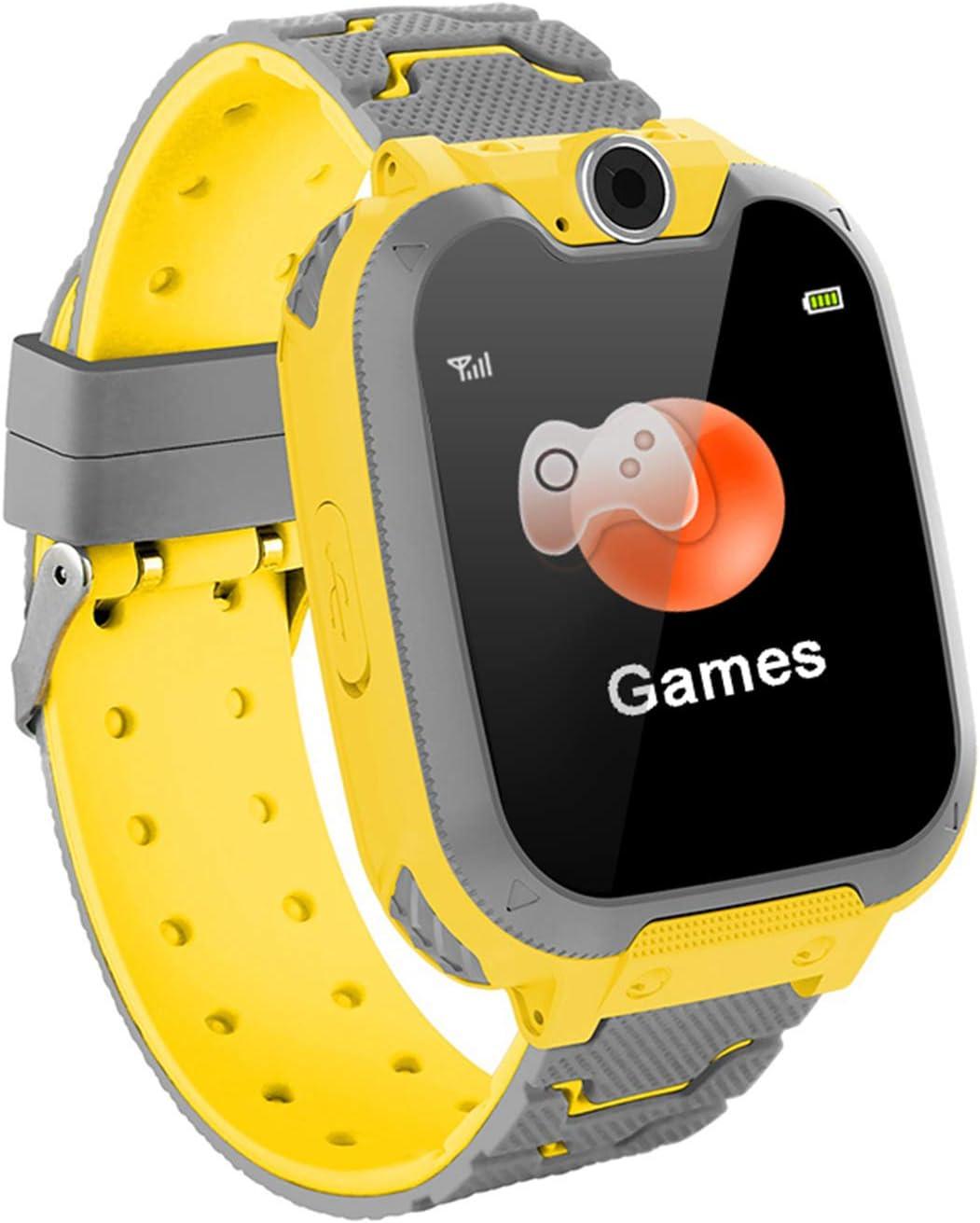 Smartwatch Niños Musica MP3 - Reloj Inteligente Niño 7 Juegos - Reloj del Teléfono, Reloj Inteligente Niña, Reloj de Cámara Alarma, Realiza Llamadas, Regalos Inteligentes para Niños, Smart Watch Niña