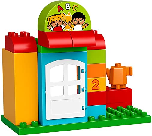 LEGO DUPLO Town - Escuela infantil (10833): Amazon.es: Juguetes y ...