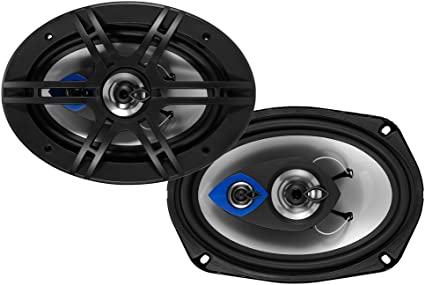 """New Planet Audio AC693 500 Watts 6/""""x9/"""" Inches 3-Way Coaxial Car Audio Speakers"""