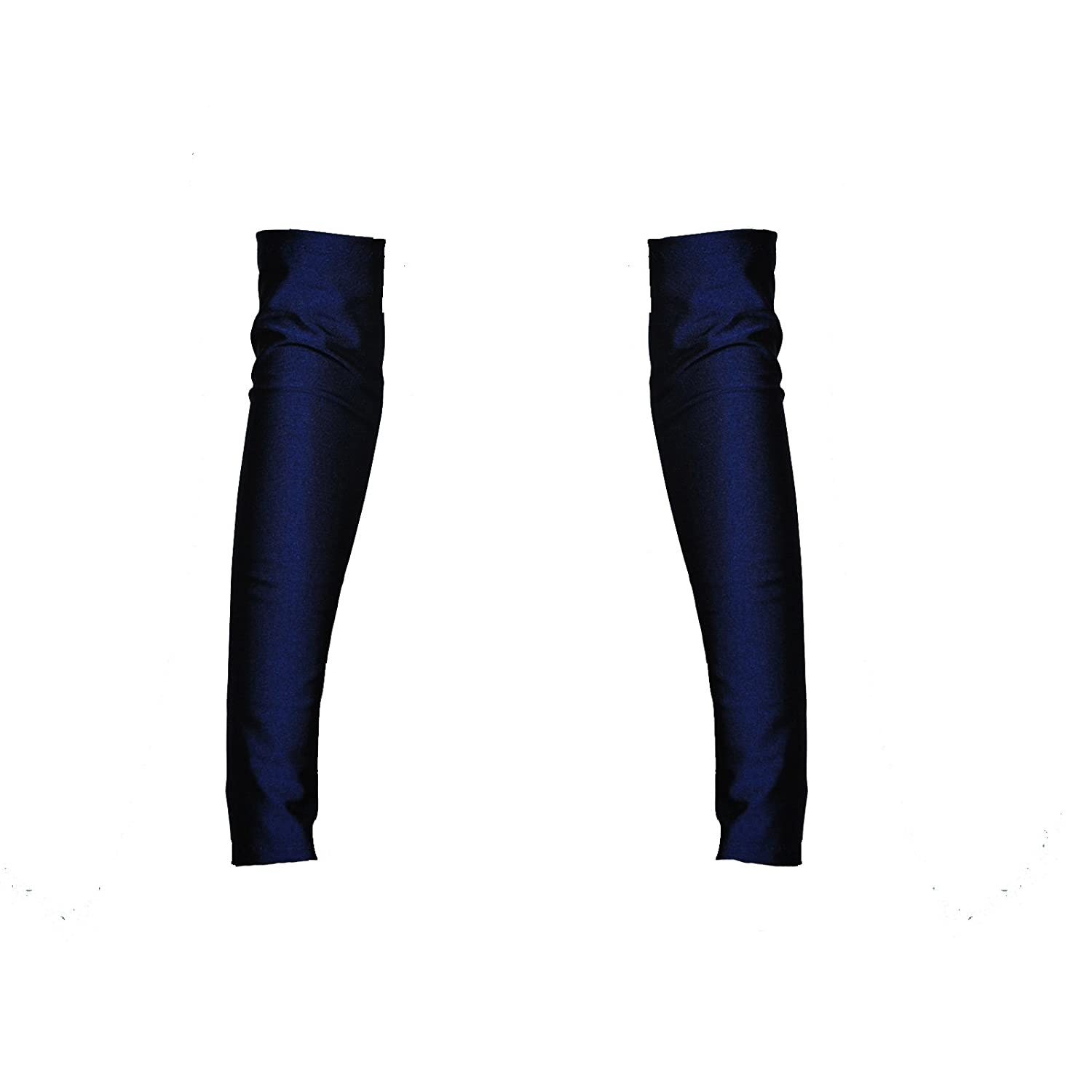 G45 - A Pair of Navy Fantasystore Brand Lycra Arm Warmers Gauntlets