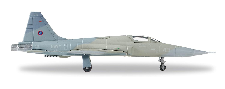 'Herpa 558099–U.S. Navy Northrop F-5E Tiger II–Top Gun, Nas Miramar–Heater VSR Color Scheme Veicolo Herpa Miniaturmodelle GmbH