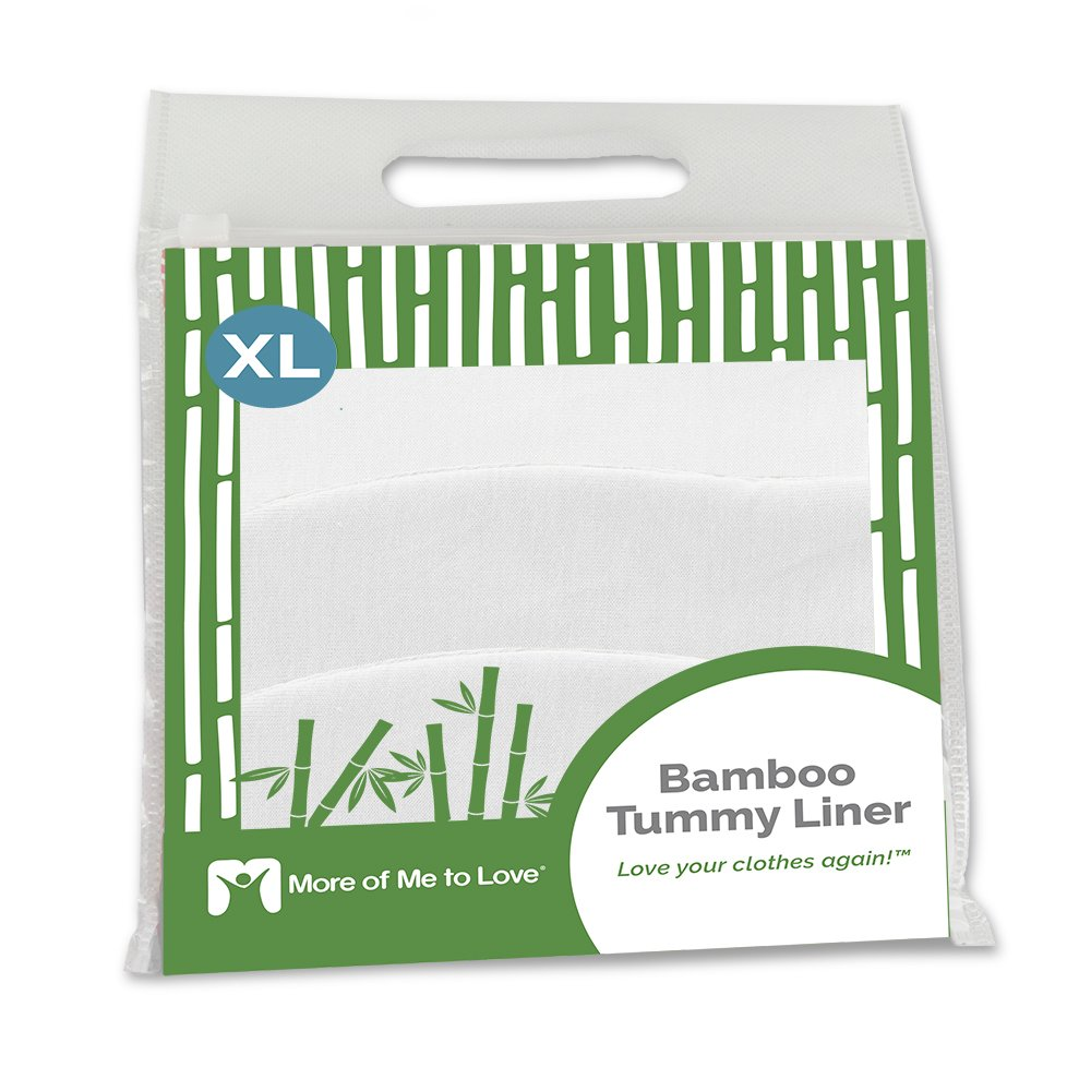 Bamboo Tummy Liner (3-Pack) (X-Large, White)