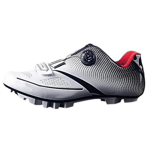 Zapatillas de Ciclismo para Hombre Zapatillas de Bicicleta de Carretera Ligeras Profesionales de Ciclismo de montaña al Aire Libre: Amazon.es: Zapatos y ...