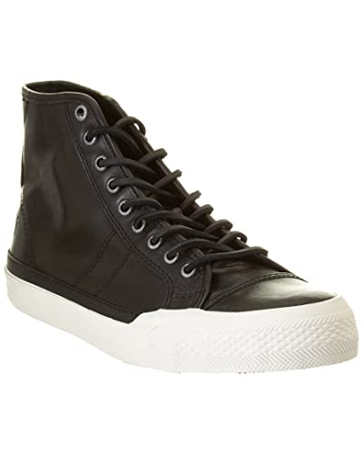 eff1a96134be FRYE Men s Greene Tall Lace Black Antique Pull-Up Sneaker 9 D ...