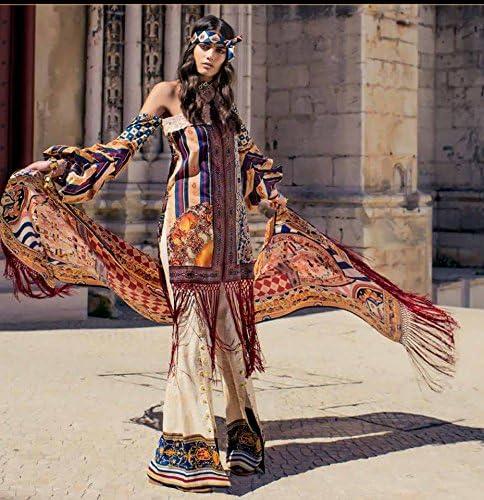 Women Designer Pakistani Shehla Chatoor Luxury Emb Lawn Slawar Kameez 3pc Stiched Large Amazon Ca Clothing Accessories