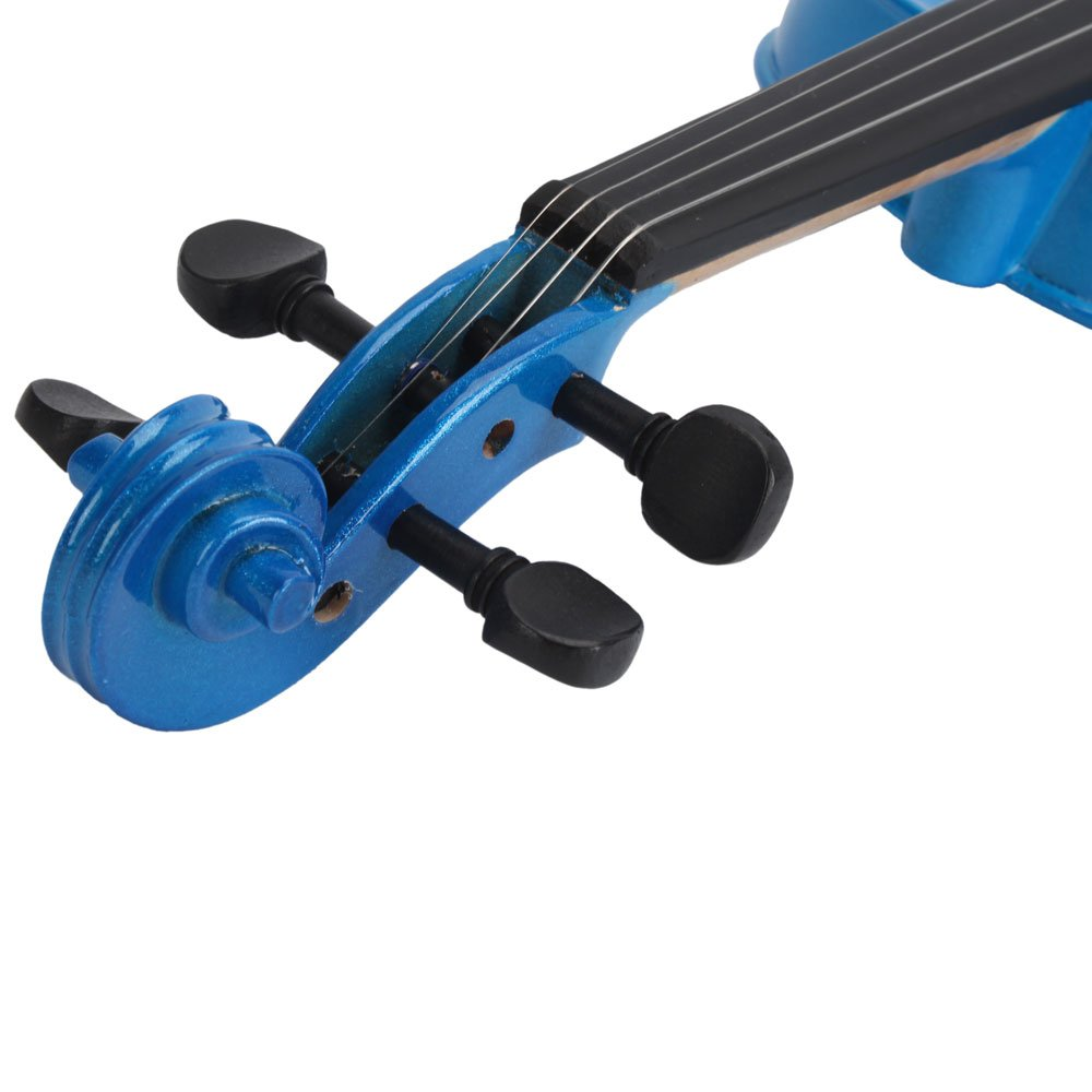 Teeker 4//4 Size Acoustic Violin for Beginner with Fiddle Case//Bow//Rosin Red