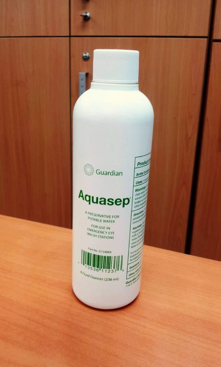 Guardian G1540 Polyethylene AquaGuard Gravity-Flow Portable Eyewash, 16 gal: Science Lab Eye Wash Units: Industrial & Scientific