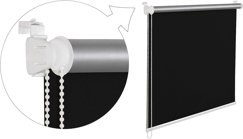 THERMOROLLO eNROULEUR dE 100 x 200 cm vERT sTORE eNROULEUR aVEC tHERMOBESCHICHUNG aBDUNKLUNG sEILZUGHALTER aVEC 100 /%