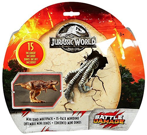 Fallen Kingdom Jurassic World Mini Dino 15 Pack Figures by Fallen Kingdom (Image #1)