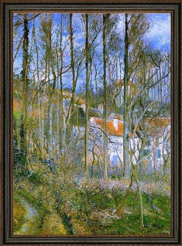 Art Oyster Camille Pissarro La Cote des Boeufs The Hermitage - 18.05
