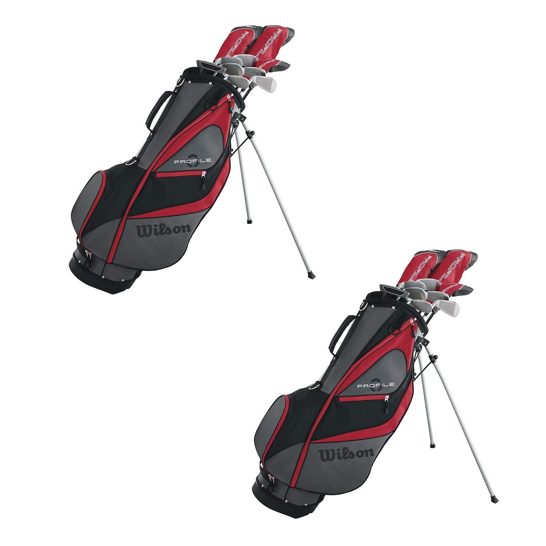 Wilson Profile XD メンズ 左利きゴルフクラブパッケージセット スタンドバッグ付き B07J3FRQLH  2