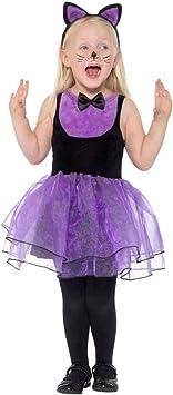 Smiffys Toddler Cat Costume Disfraz de gato para niño, color negro ...
