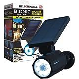 Bell+Howell 2963 Bionic Spotlight Solar Spot 25 Feet Motion Sensor, Sun Panels, Waterproof Frost Resistant Patio, Yard…