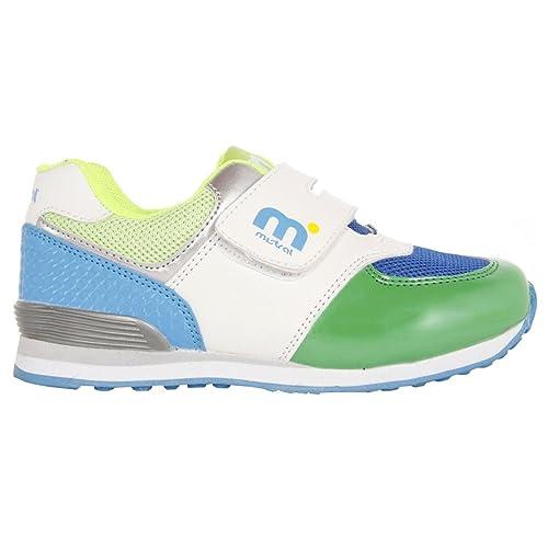 Zapatillas Deporte de Niño y Niña MISTRAL DN4018-1MI1 Verde Talla 20: Amazon.es: Zapatos y complementos